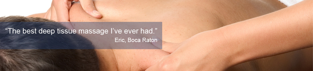 Massage Therapist Boca Raton