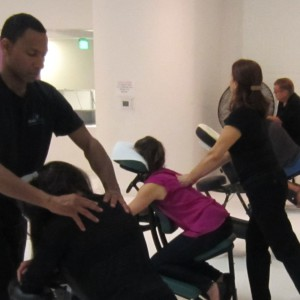 seated massage miami