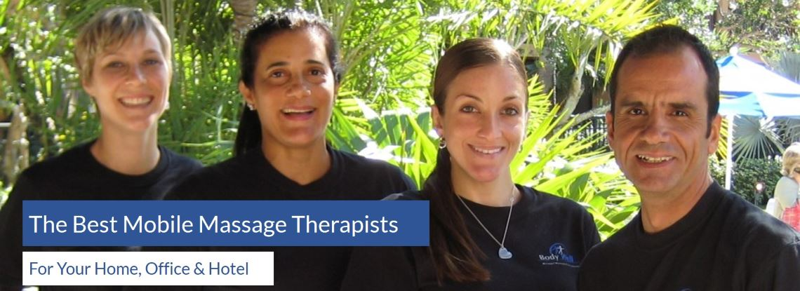 Best Mobile Massage Therapists for Your Home, Office and Hotel