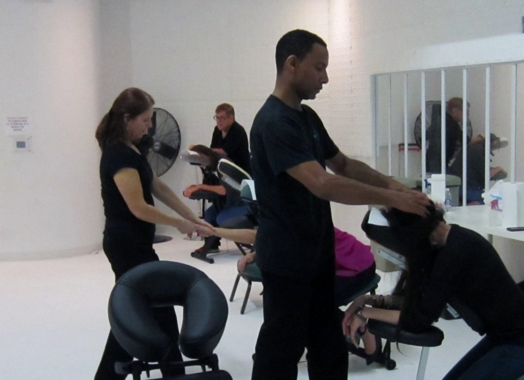 corporate chair massage service San Jose, CA