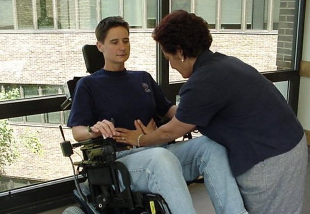 massage therapy wheelchairs