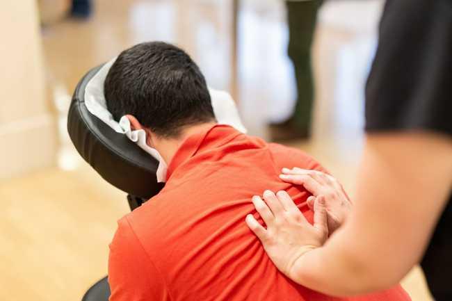 chair massage corporate washington DC
