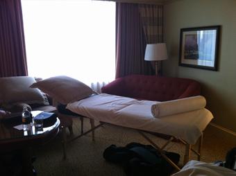 hotel room massage